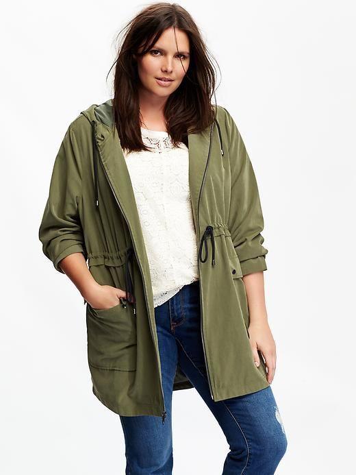5 ways to wear a plus size parka 1 - 5 ways to wear a plus size parka
