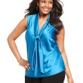 5 ways to wear a plus size satin top 2 120x120 - 5 ways to wear a plus size satin top