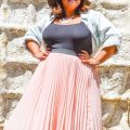plus size pleated skirts for spring style 1 120x120 - 5 cute plus size pleated skirts for spring style