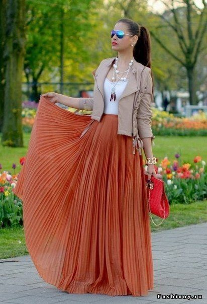 plus-size-pleated-skirts-for-spring-style