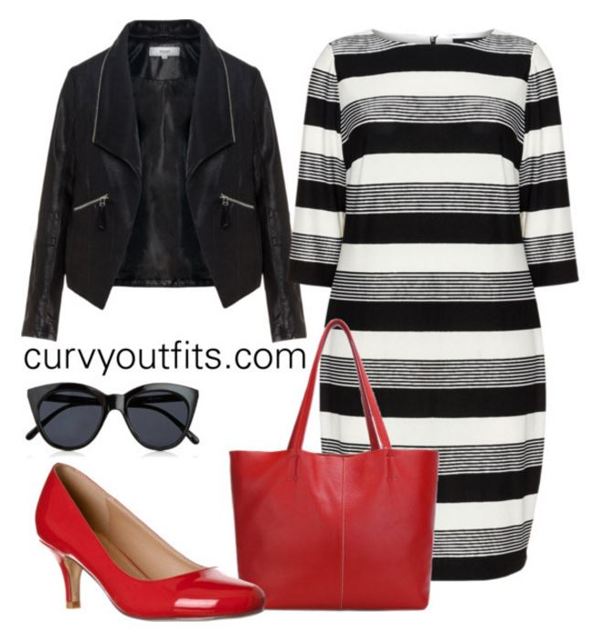 5 plus size striped dresses for spring style 7 - 12 plus size striped dresses for spring style