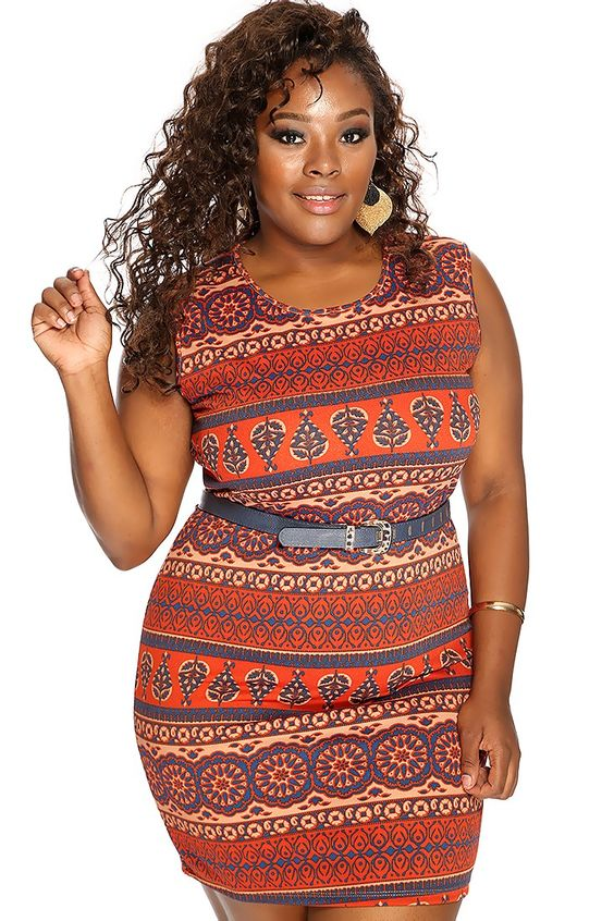 5 Ethnic Print Dresses For Curvy Ladies Curvyoutfits Com