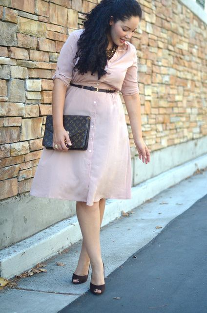 how to wear curvy pastel dresses in sring 3 - How to wear curvy pastel dresses in spring
