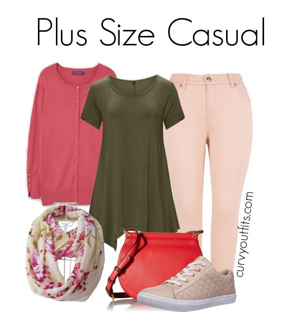 plus size casual outfit for spring - OOTD : plus size casual spring outfit to wear this weekend