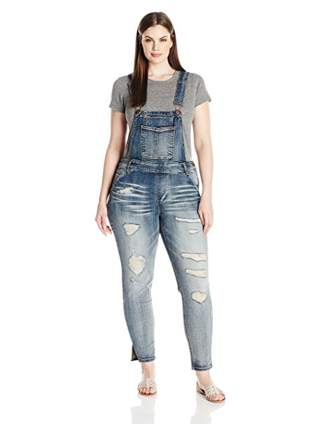 5 fun ways to wear a plus size denim jumpsuit in spring 3 - 5 fun ways to wear a plus size denim jumpsuit in spring