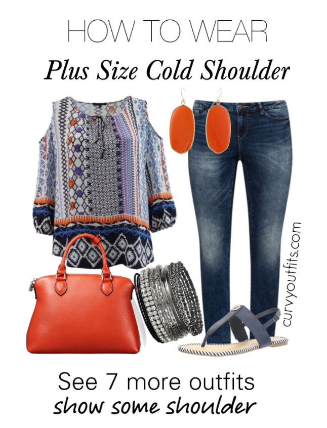 plus size cold shoulder outfits1 - 7 stylish ideas on how to wear plus size cold shoulder tops