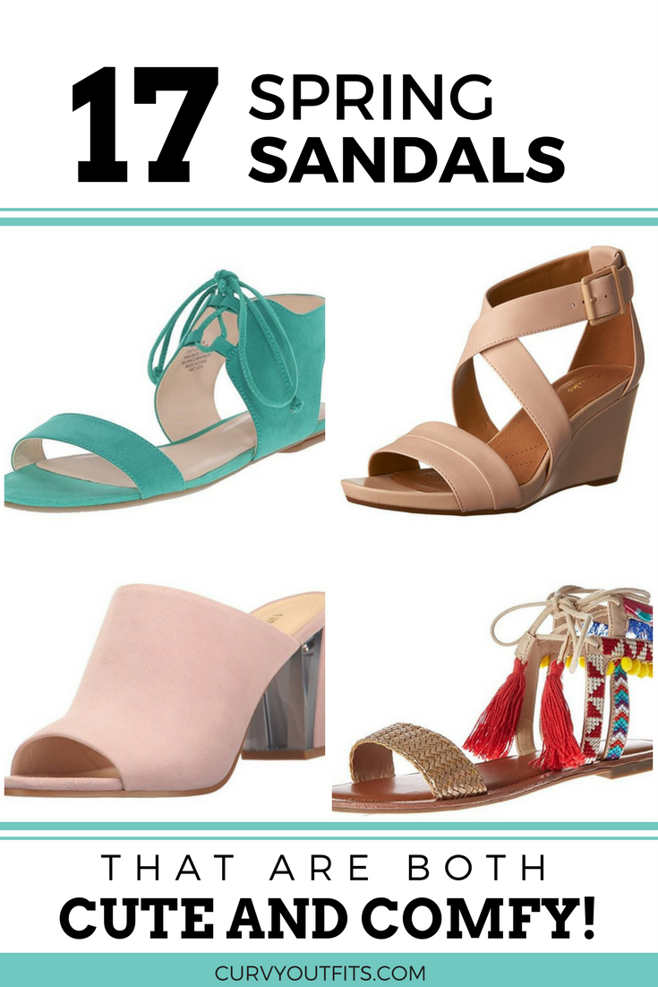 spring sandals - 18 spring sandals that are both cute and comfortable