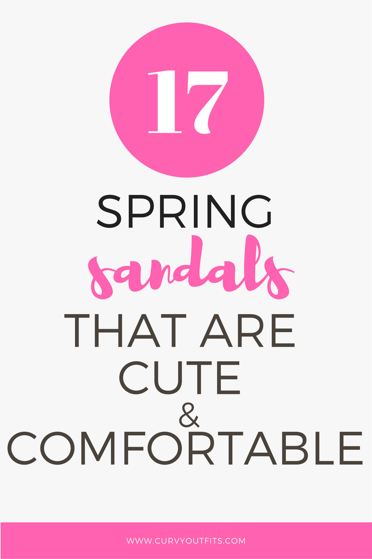 spring sandals1 - 18 spring sandals that are both cute and comfortable