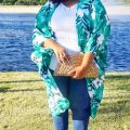 plus size summer outfit with jeans and kimono 500 x 771 120x120 - 7 stylish plus size outfits to wear in June