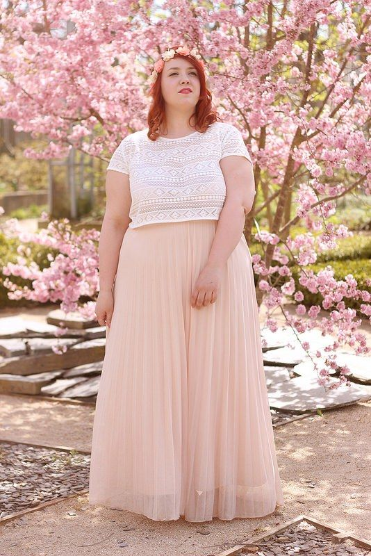 what top to wear with a plus size maxi skirt - What top to wear with a plus size maxi skirt