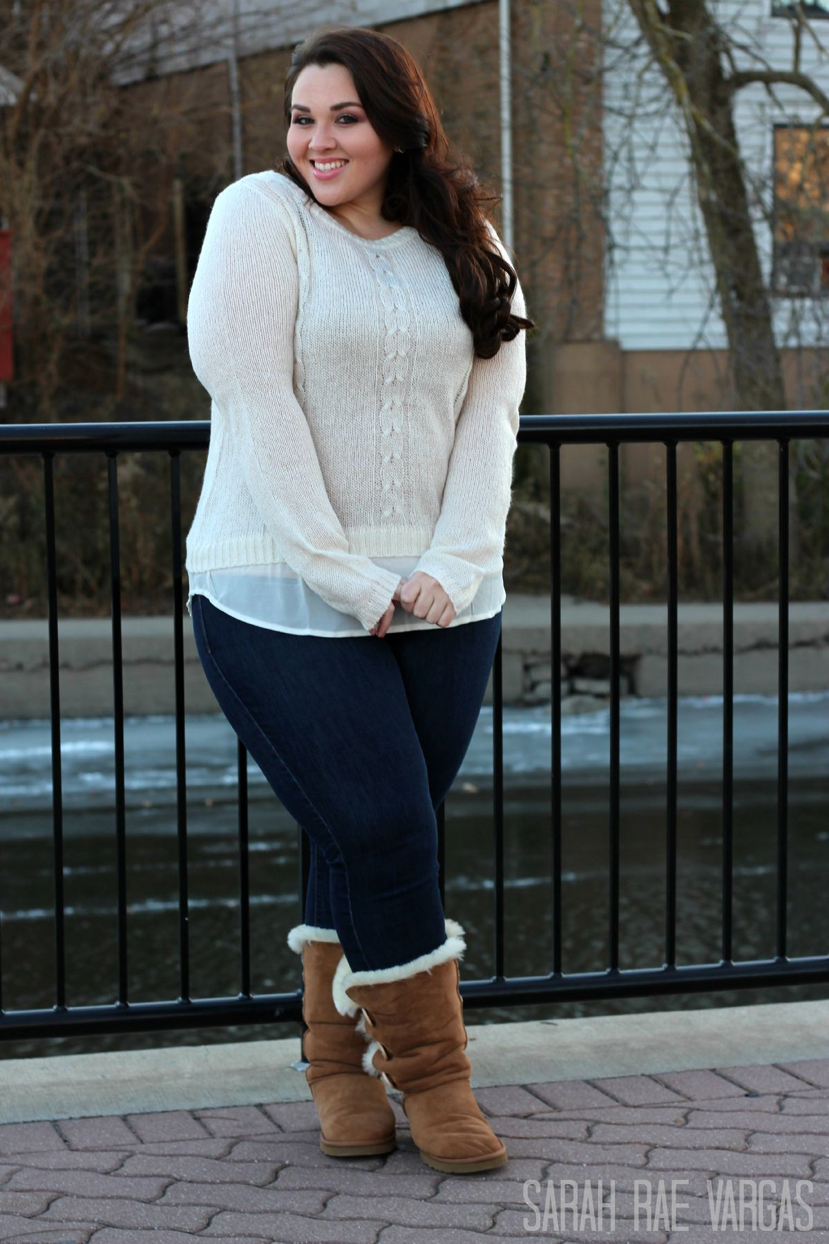 25 casual plus size winter outfits you have to try ...