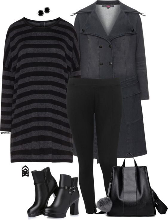 plus size leggings outfit1 - 19 stylish ways to wear a plus size leggings outfit