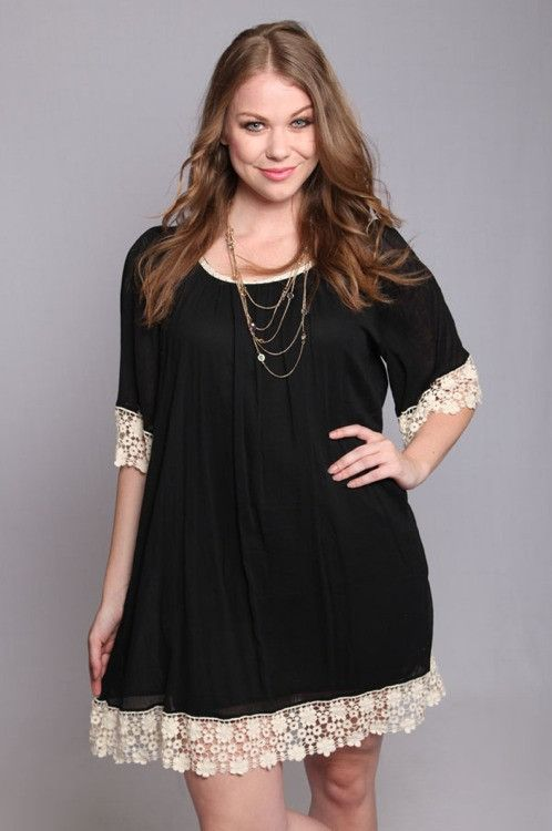 Black Plus Size Dresses Curvyoutfits