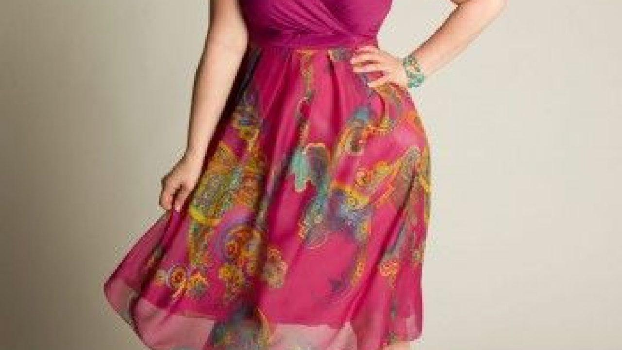 Cheap Plus Size Summer Dresses - curvyoutfits.com