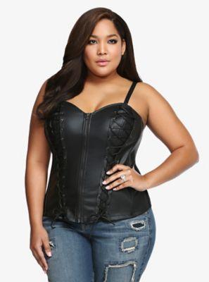 Black Plus Size Corsets