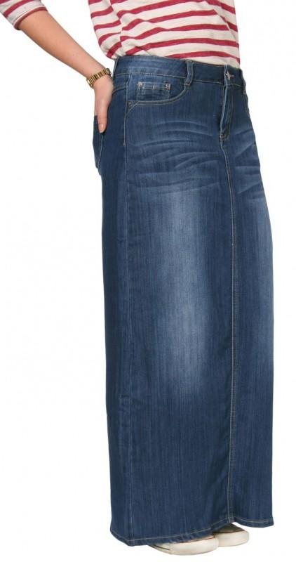plus size jean skirts1 - plus-size-jean-skirts1