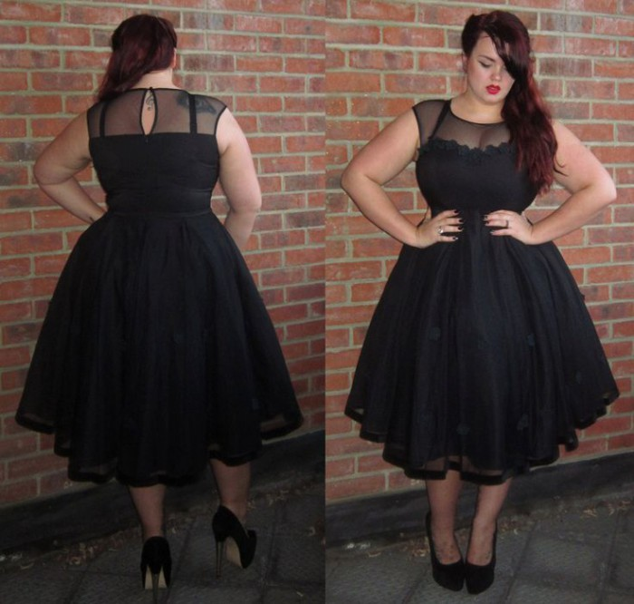 f0285009079 Plus Size Petite Dresses - curvyoutfits.com