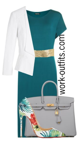 Business Plus Size Outfits