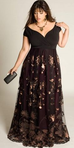 evening plus size outfits 5 top - evening-plus-size-outfits-5-top