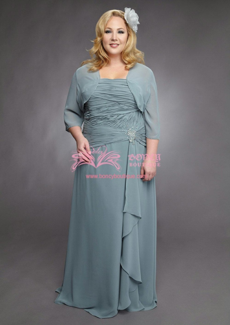 d5b6c4cba5e73 Mother of the bride plus size dresses 5 best outfits - curvyoutfits.com