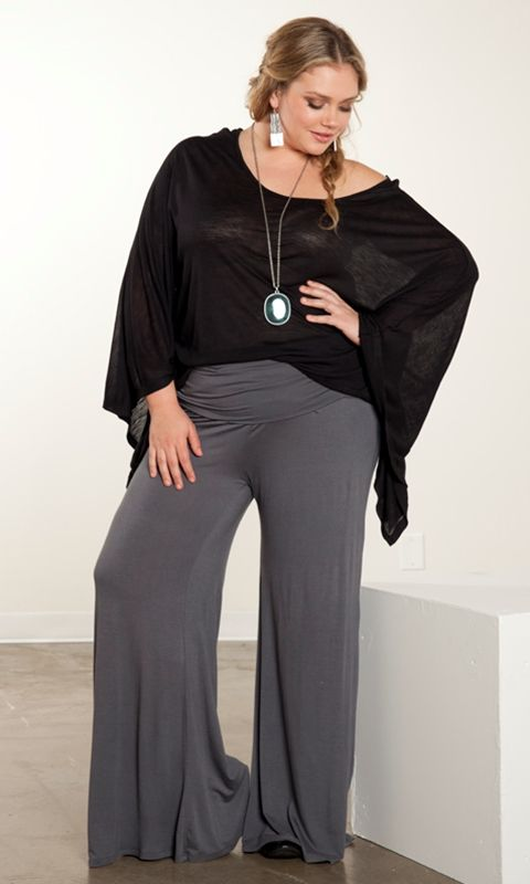 palazzo pants plus size 5 best outfits2 - palazzo-pants-plus-size-5-best-outfits2