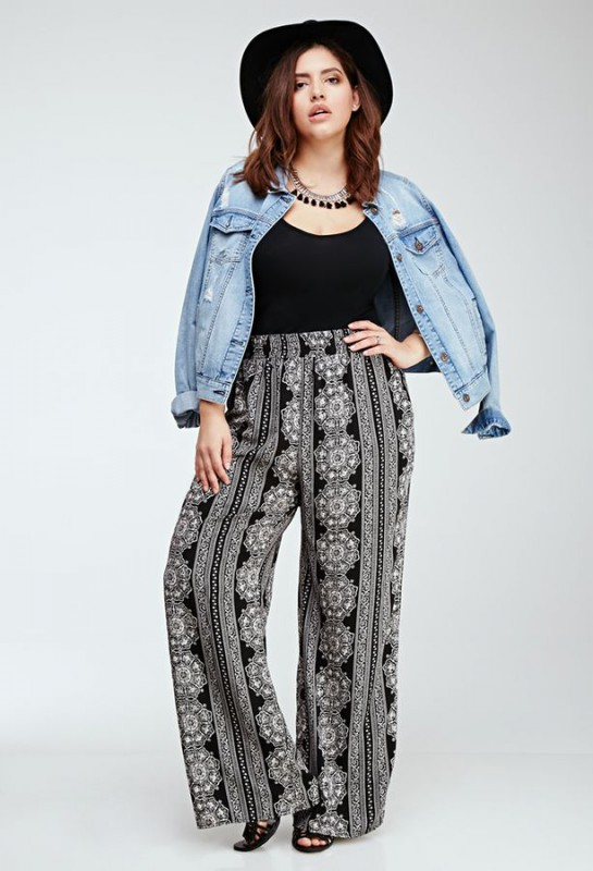 Palazzo Pants Plus Size 5 Best Outfits Curvyoutfits Com