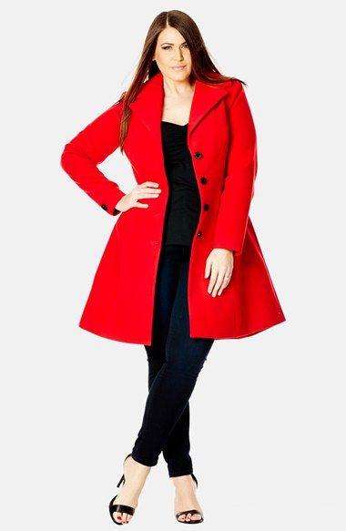 plus size coats 5 best outfits2 - plus-size-coats-5-best-outfits2