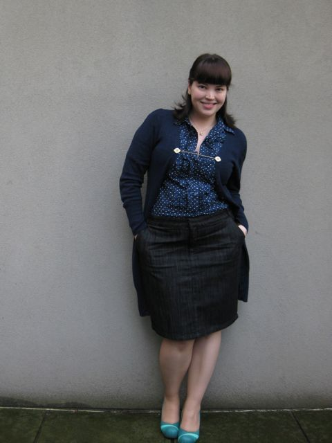 plus size denim skirts 5 best outfits3 - plus-size-denim-skirts-5-best-outfits3