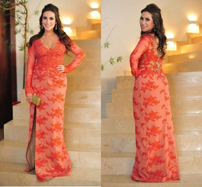 plus size evening gowns with sleeves 5 best2 - plus-size-evening-gowns-with-sleeves-5-best2