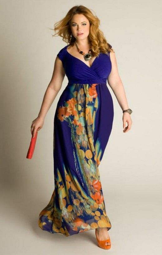 Plus size long maxi dresses 5 best outfits - Page 2 of 5 ...