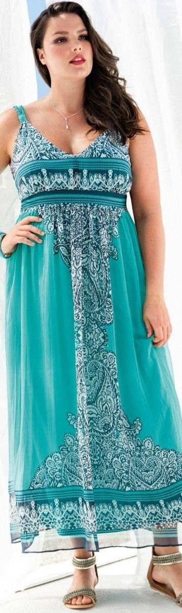 plus size long maxi dresses 5 best outfits2 - plus-size-long-maxi-dresses-5-best-outfits2