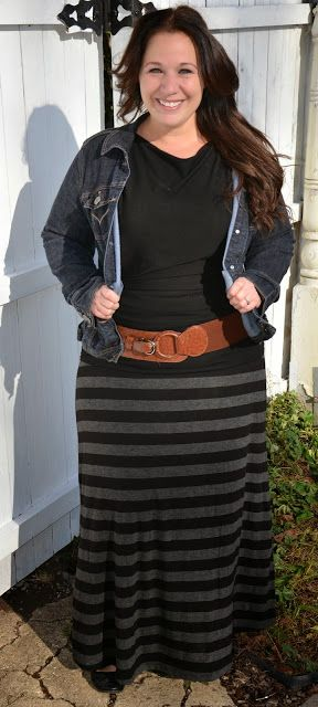 plus size long skirts 5 best outfits - plus-size-long-skirts-5-best-outfits