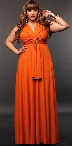 Plus Size Maxi Dresses best outfits - curvyoutfits.com