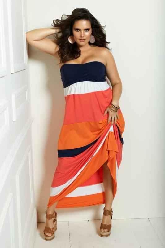 Plus size maxi dresses 5 best outfits - curvyoutfits.com