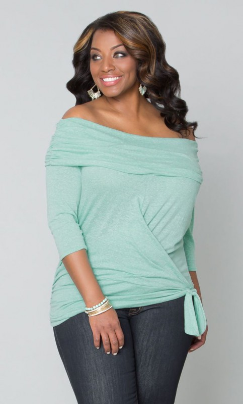plus size one shoulder tops 5 best outfits3 - plus-size-one-shoulder-tops-5-best-outfits3
