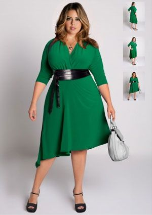 Plus Size Outfits For Apple Shape 5 best - curvyoutfits.com