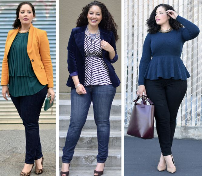 a245bfd0b3e Plus size outfits for women 5 top - curvyoutfits.com