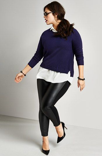 plus size outfits with leggings 5 best - plus-size-outfits-with-leggings-5-best