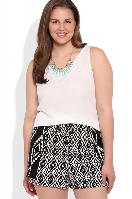 plus size outfits with shorts 5 best - plus-size-outfits-with-shorts-5-best