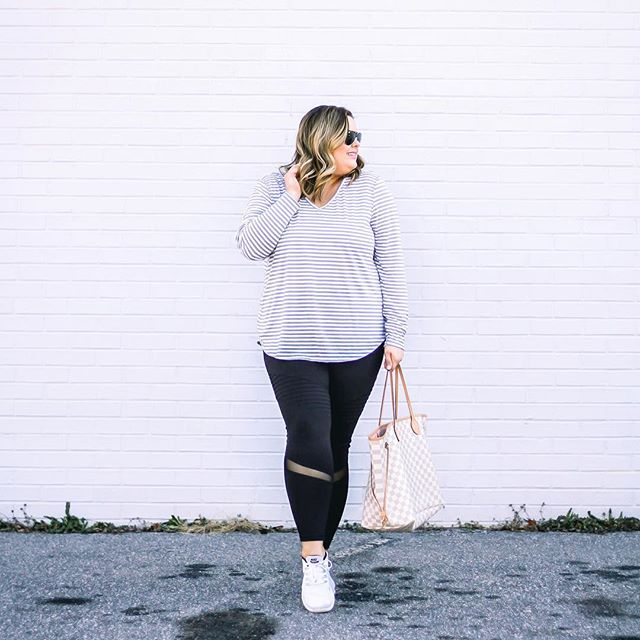 94fc3148a Plus Size Outfits With Sneakers 15 best - curvyoutfits.com