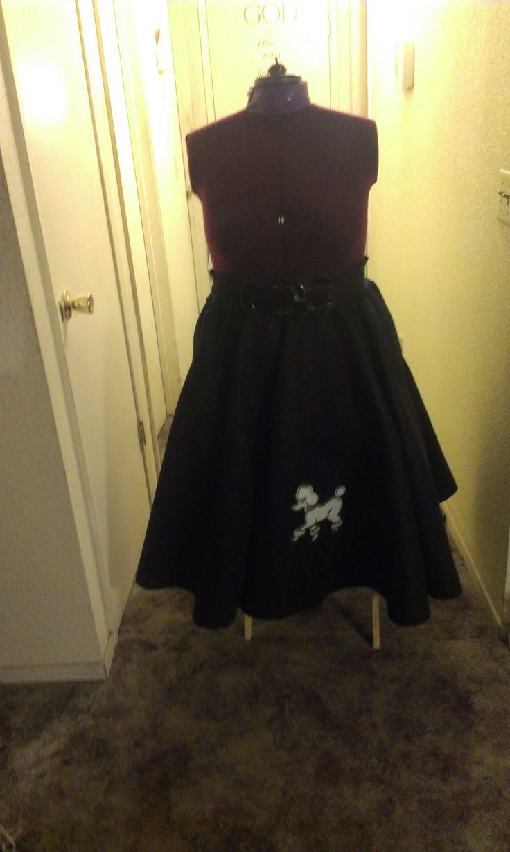 plus size poodle skirts 5 best outfits1 - plus-size-poodle-skirts-5-best-outfits1