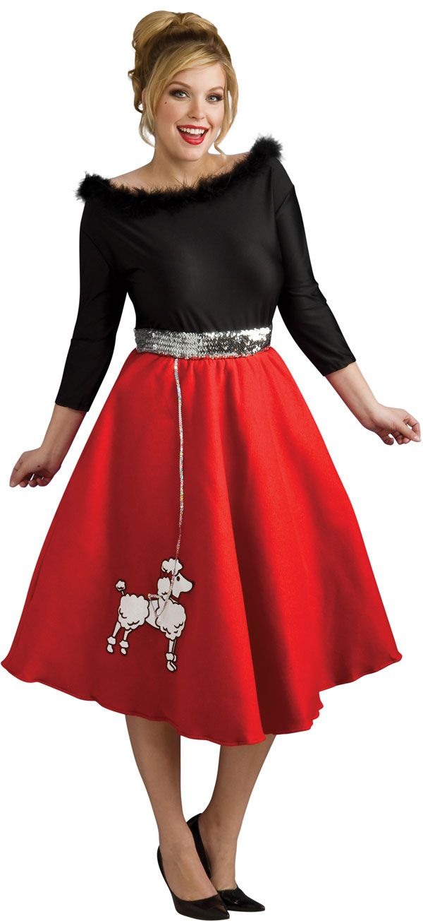 plus size poodle skirts 5 best outfits3 - plus-size-poodle-skirts-5-best-outfits3