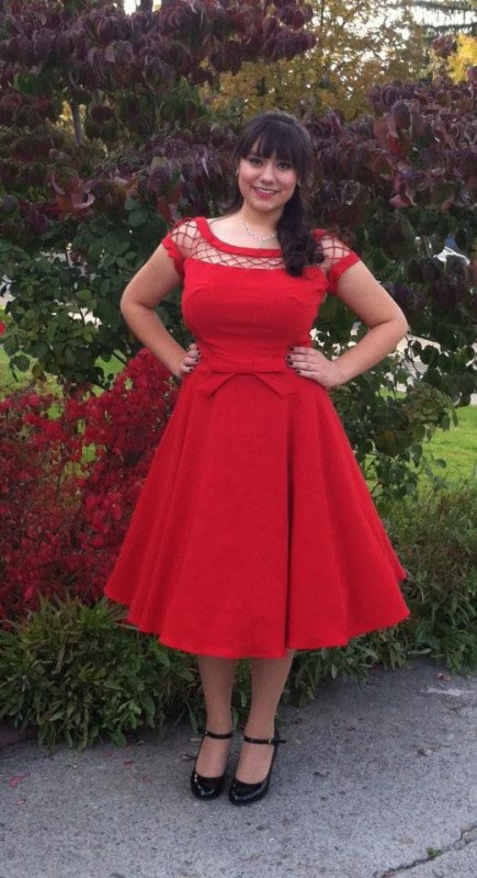 plus size red dress 5 best outfits1 - plus-size-red-dress-5-best-outfits1