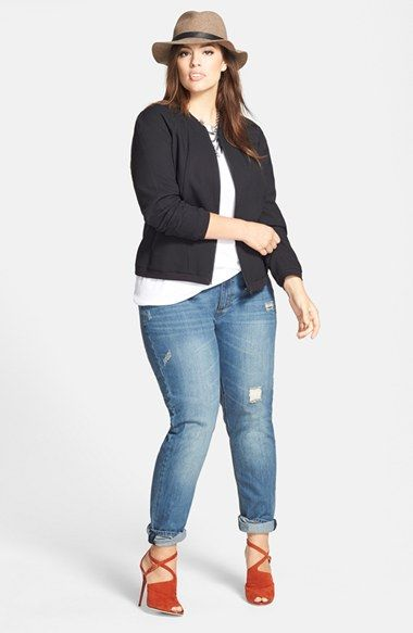 plus size spring jackets 5 best outfits - plus-size-spring-jackets-5-best-outfits