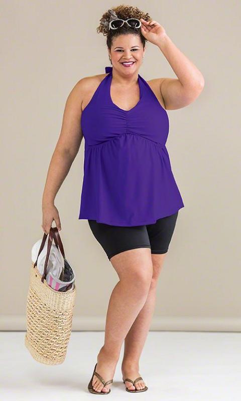 plus size swim shorts 5 best outfits - plus-size-swim-shorts-5-best-outfits