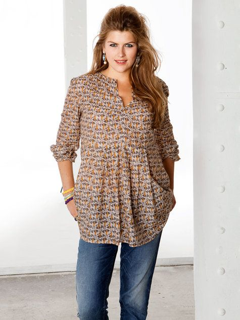plus size tunics 5 best outfits - plus-size-tunics-5-best-outfits