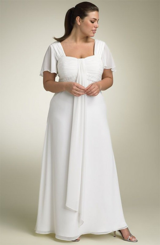 Plus size wedding dresses with sleeves 5 best outfits - Page 4 of 5 ...
