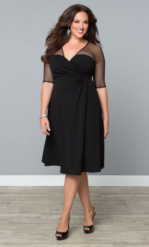 Sexy trendy plus size dresses