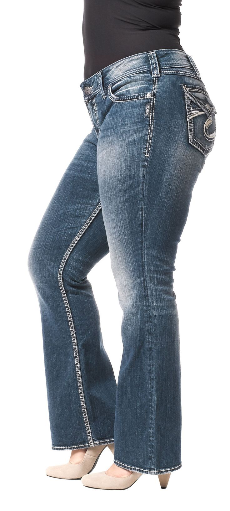 silver plus size jeans 5 best outfits - silver-plus-size-jeans-5-best-outfits