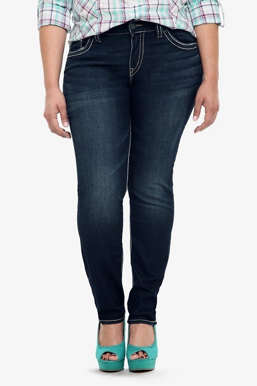 silver plus size jeans 5 best outfits4 - silver-plus-size-jeans-5-best-outfits4